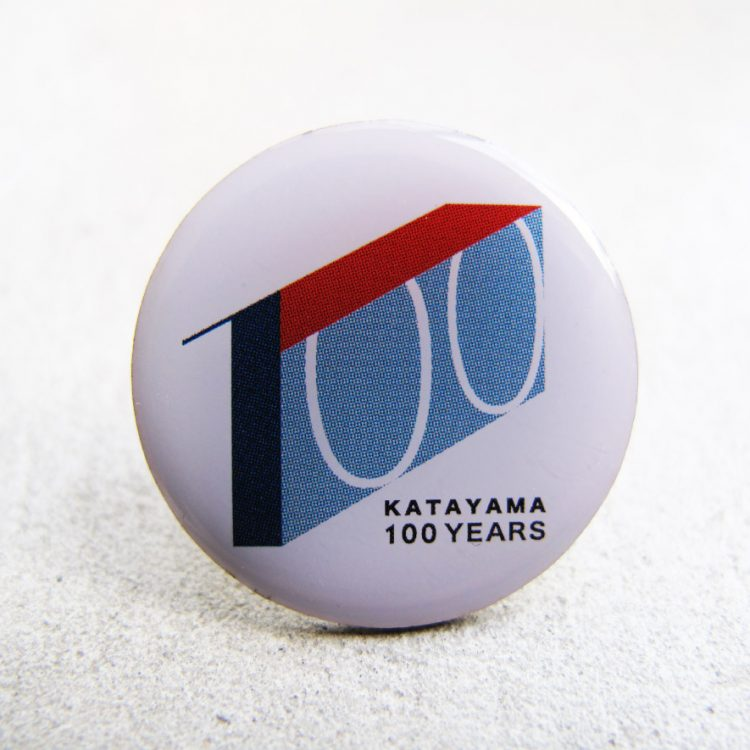 創業100周年記念キャンペーン ピンバッジ